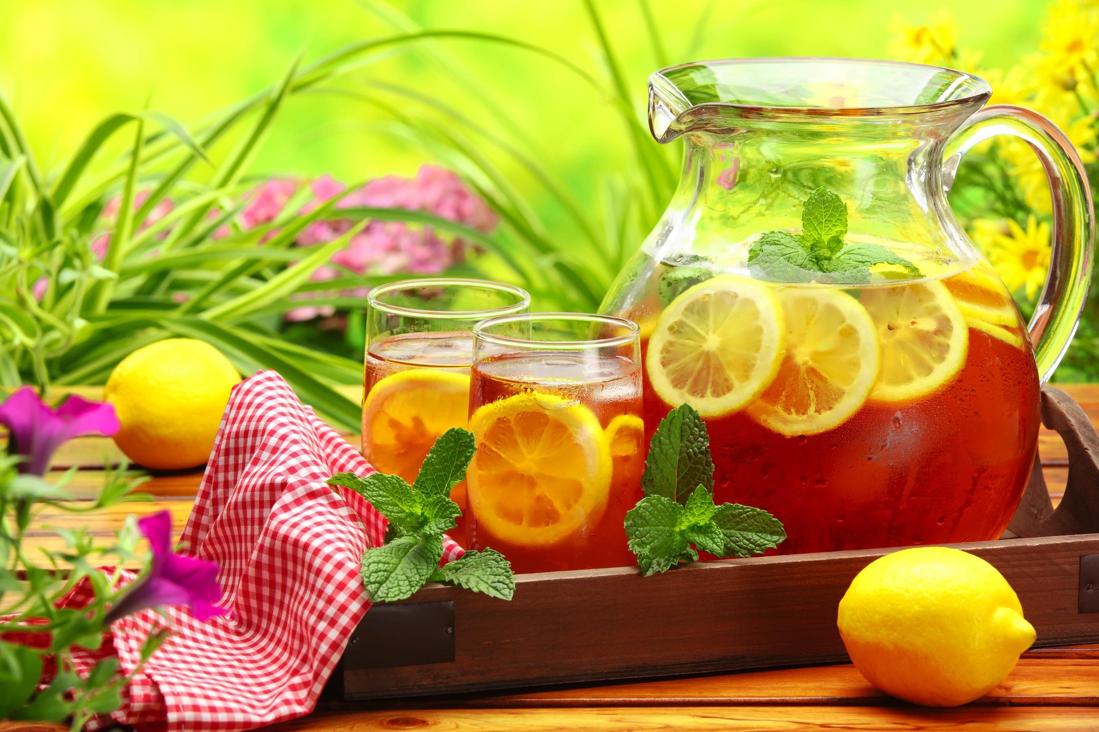 Thé au citron decoration murale