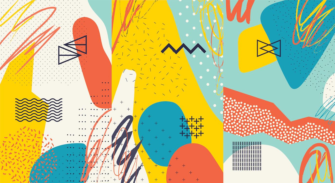 Formes compatibles papier peint