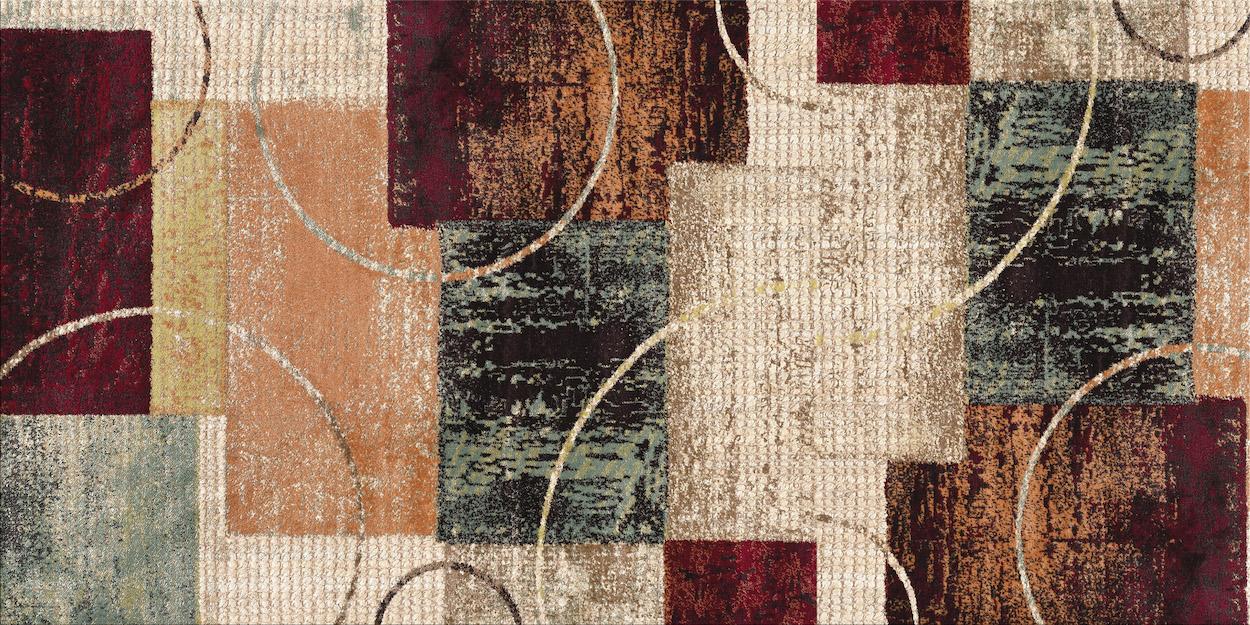 Motif de tapis tapisserie