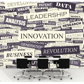 Innovation papier peint 3d appliqué sur le mur