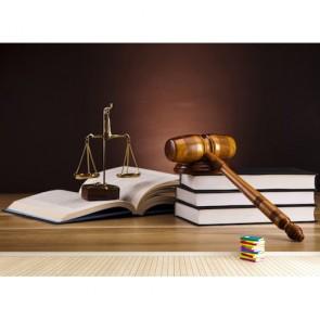 La justice est l'État fondamental papiers peints photo appliqué sur le mur