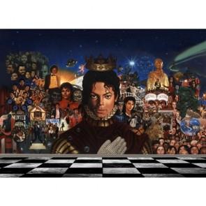 Roi de la Pop papier peint appliqué sur le mur