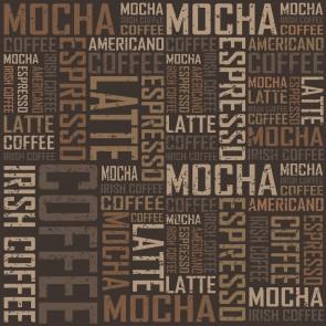 Typographie De Café