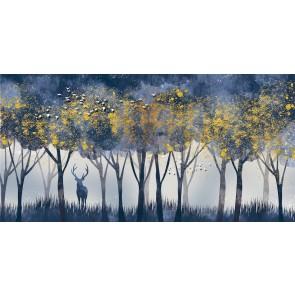 Cerf Et Forêt