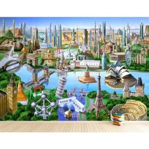 Symboles de la terre papiers peints photo