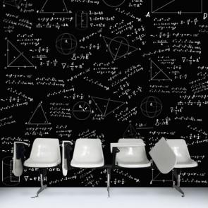 Formules de surface papier peint 3d appliqué sur le mur