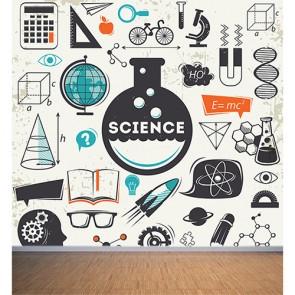 L'ère des sciences papiers peints photo appliqué sur le mur