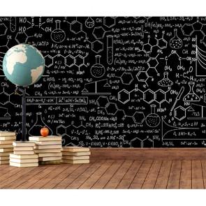 Formules chimiques decoration murale appliqué sur le mur