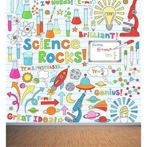La science est géniale papiers peints photo appliqué sur le mur