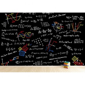 Formules de trigonométrie papiers peints photo 3D appliqué sur le mur