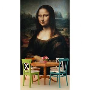 Mona Lisa papiers peints photo 3D appliqué sur le mur
