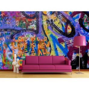 L'amour es-tu tapisserie murale appliqué sur le mur