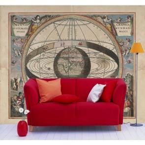 Astrologie papier peint appliqué sur le mur