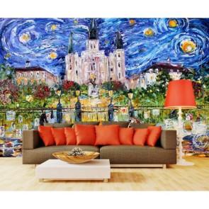 Jackson Place papiers peints photo 3D appliqué sur le mur