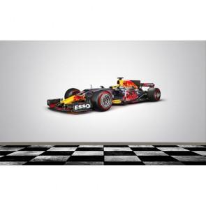 F1 Red Bull tapisserie appliqué sur le mur