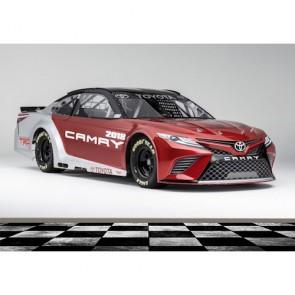 Voiture de course Toyota papiers peints photo appliqué sur le mur