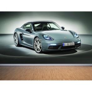 Porsche Coyman papier peint 3d appliqué sur le mur