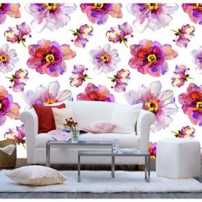 Fleur élégante papier peint