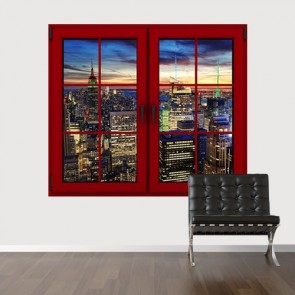 Ma maison regarde vers Manhattan decoration murale