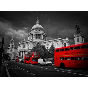 Bus Rouges À Londres