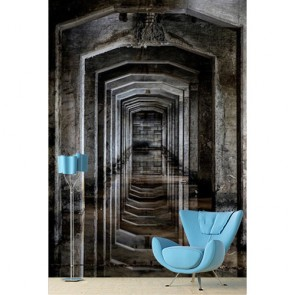 Couloir antique papiers peints photo appliqué sur le mur