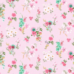 Murs Fleuris Roses