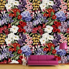 Magie des fleurs papier peint