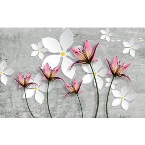 Fleurs En Béton