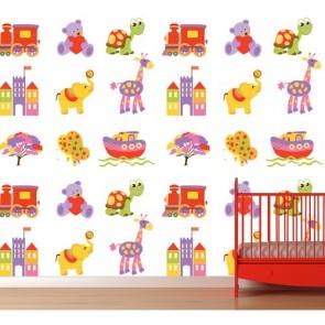 Mes jeux decoration murale