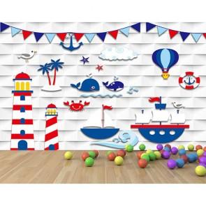 Monde imaginaire decoration murale appliqué sur le mur