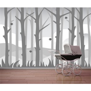 J'adore la forêt papiers peints photo appliqué sur le mur