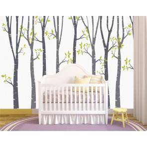 Fond d'écran Le monde des arbres papiers peints photo 3D appliqué sur le mur