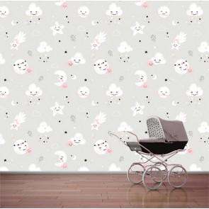 Bonne nuit decoration murale appliqué sur le mur
