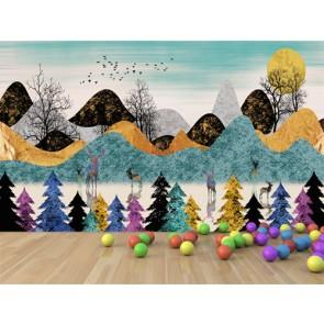 Une autre forêt d'oeil papiers peints photo appliqué sur le mur