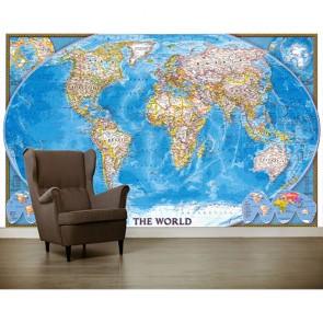 La terre papiers peints photo appliqué sur le mur