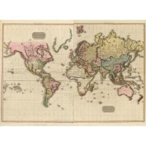 1800 Carte Du Monde