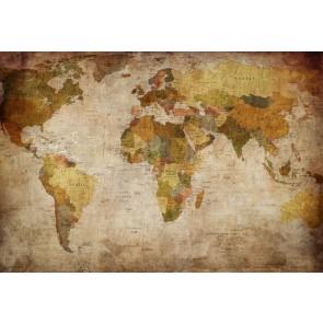 Carte Du Monde Élégante