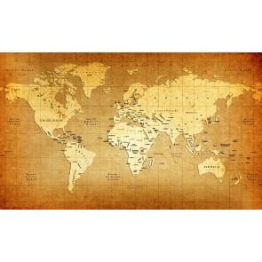 Carte Du Monde Sur Le Matériel Vieillissant