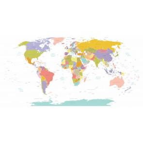 Carte Du Monde Avec Des Villes