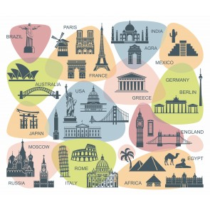 Carte Du Tourisme Mondial