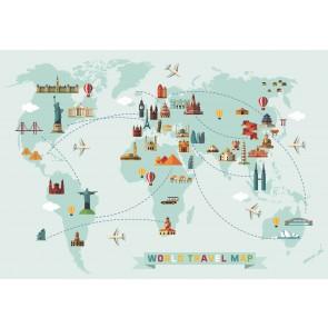 Carte Du Tour Du Monde En Ballon