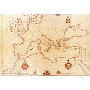 Carte Européenne Du 16Ème Siècle