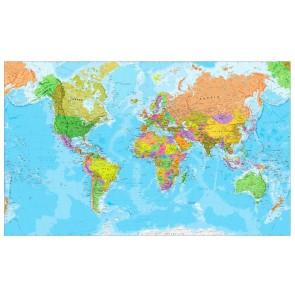 Carte Du Monde Pour La Décoration