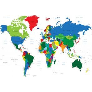 Carte Du Monde Pour Les Bureaux
