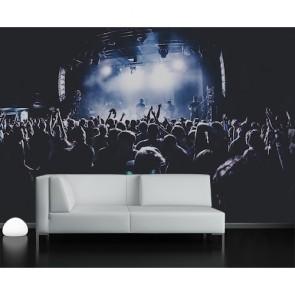 Zone de concert papier peint 3d appliqué sur le mur