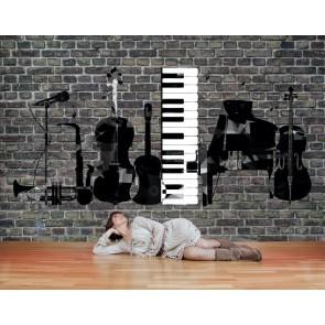 La Musique Cest Ma Vie Papier Peint Photo Applique