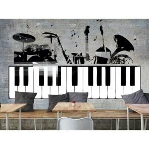 Studio Denregistrement De Musique Papier Peint Photo Applique