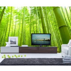 Bambou papiers peints photo appliqué sur le mur
