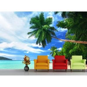 Vacances tropicales papiers peints photo 3D