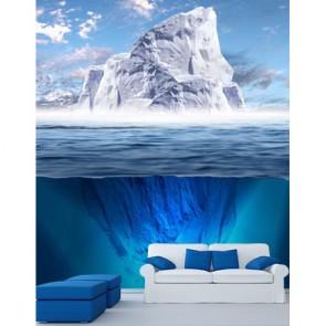 Haut de l'iceberg papiers peints photo appliqué sur le mur